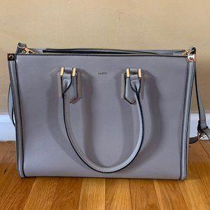 ALDO Gray Large Leather Purse